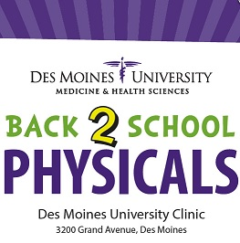 DMU Back-To-School Physicals!
